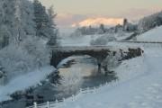 Old bridge across the River Bran