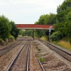 The railway bridge at Haresfield