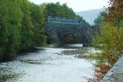 The bridge over Afon Wnion