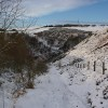 In the snow above Torduff Reservoir