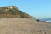 Seaton beach, looking east