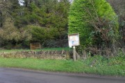 Notice board in Fordwells