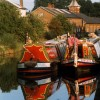 Narrowboats at Bulbourne