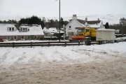 Snow plough, A82