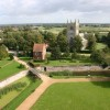 Tattershall Church from the Castle
