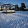 Winter bandstand