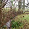 Small stream by the Quantock Greenway