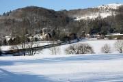Little Malvern in the snow