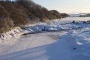 A frozen River Halladale