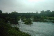 Bridge over River Derwent near Borrowash, Derbyshire
