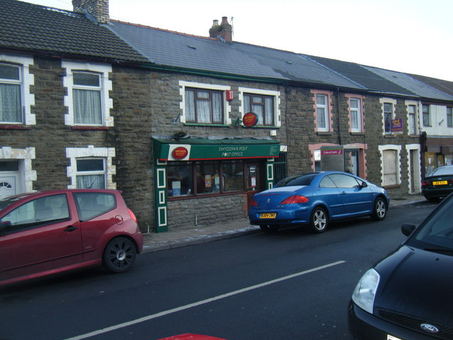 Maerdy Post Office, Ceridwen Street.