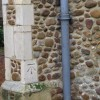 Bench Mark on Great Barford church