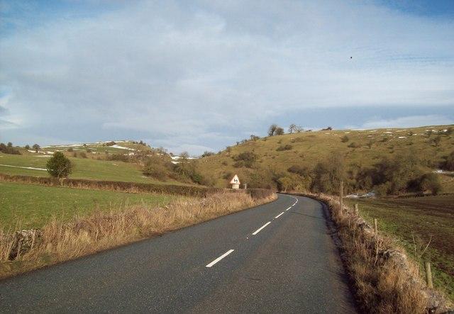B5056 near Dulands Farm