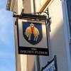 The Golden Fleece pub sign, 1 St. Owen's Street