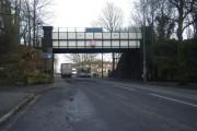 Bridge taking Trans Pennine Trail over Belle Vale Road.