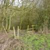 Minimalist fence and stile, Loads House Farm