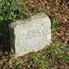 Greenwich meridian marker stone