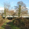 Looking north at the railway bridge over the River Avon (2)