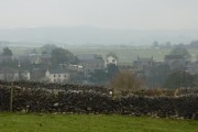 Townhead, Tideswell on a misty January day