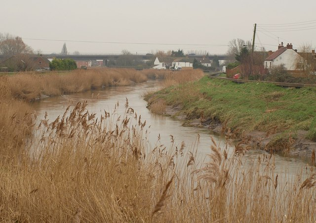 River Parrett below Dunwear