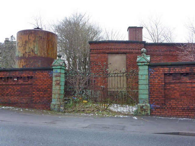 Facit Mill, Whitworth, Gate
