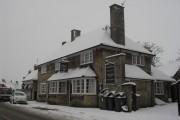 The Horseshoe, Bampton, in the snow