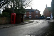 Telephone box and bus shelter
