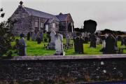 East Baldwin - St Luke's Church and graveyard