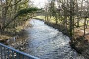 Afon Lwyd, Llanfrechfa Way, Cwmbran