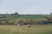 Farmland between Ditchford Frary and Todenham