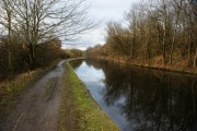 The Leeds Liverpool Canal below Haigh Upper Plantations