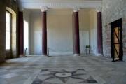 Interior of Appuldurcombe House, Isle of Wight