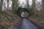Bridge over the Downs Link path west of Slinfold