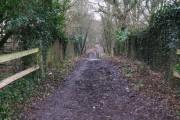 Bridge over the former Guildford to Horsham line