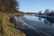 Ice on the River Deveron