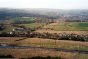 Hall Bower viewed from Castle Hill, Huddersfield