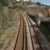 Railway at Hollicombe