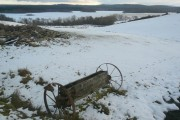 Loch Ussie, in the snow