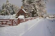 Drumguish in snow