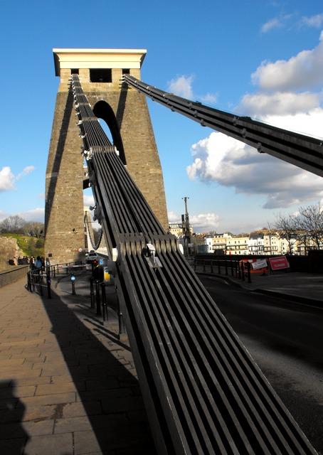 Chains of the Clifton Suspension Bridge