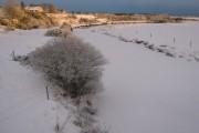 Frozen Wick River in Watten