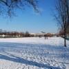 Gosport under snow - Walpole Park (North)