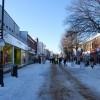 Gosport under snow - High Street (3)