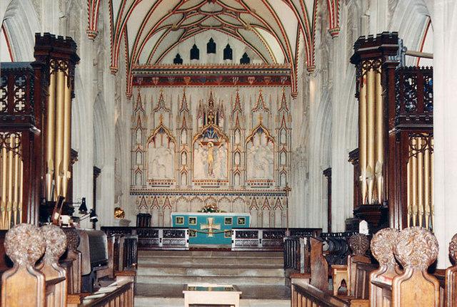 St Mary, Ottery St Mary, Devon - Chancel