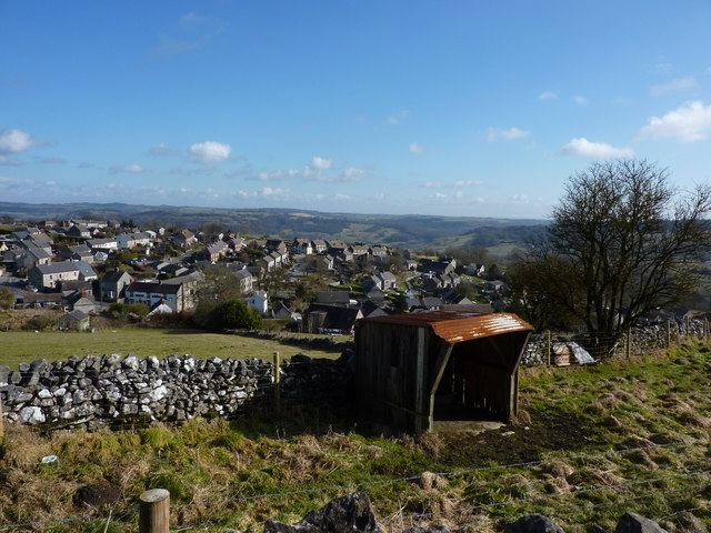 Middleton and sheep shelter