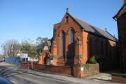 Old church in Church Street, Flint