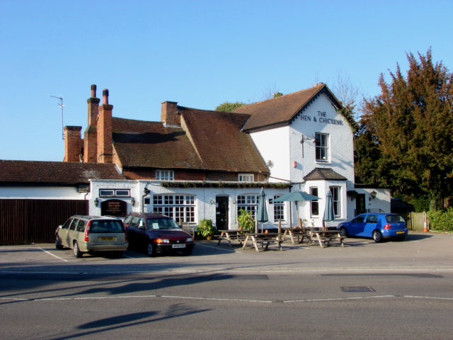 Hen And Chickens Pub, Bisley