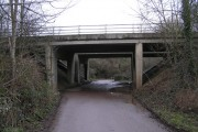 Bridge carrying Keynsham Bypass (A4)