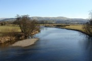 River Towy looking south from Bont ar Towy