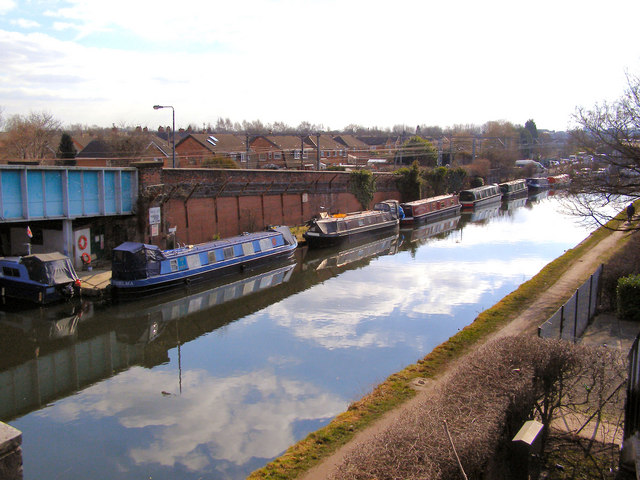 Bridgewater Canal at Timperley